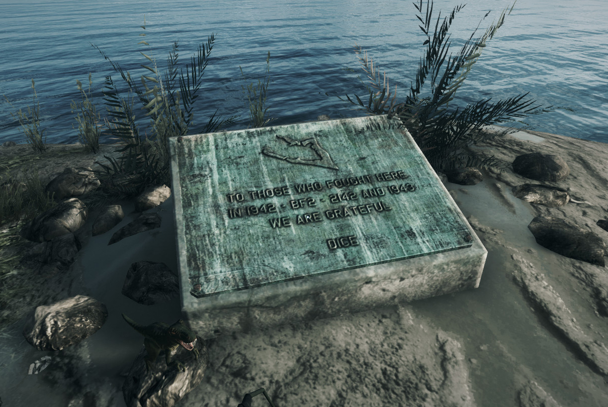 Wake Island Monument - Battlefield 3 Easter Eggs