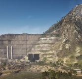 Lancang Dam (Aerial View)