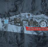 Lancang Dam Reflection (Map Location)