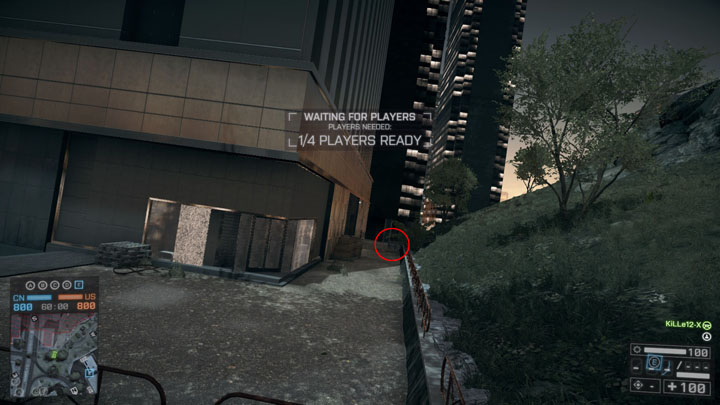 Alley Location of Peashooter (Battlefield 4 easter egg)