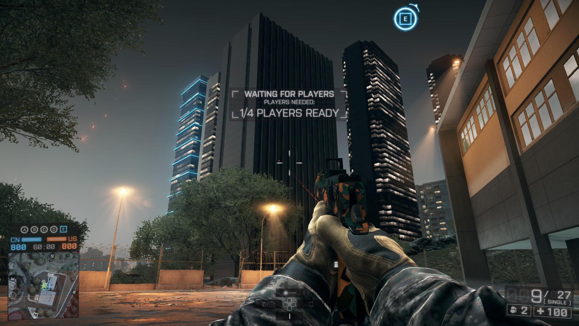 Building From E Flag (Battlefield 4 easter egg)