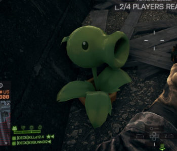 Plants vs Zombies Peashooter