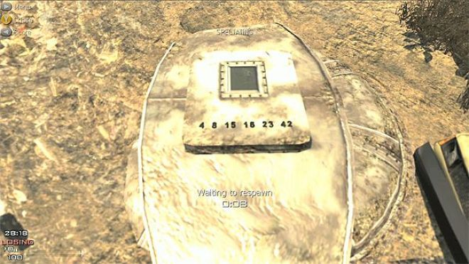 Lost Hatch on Village - Call of Duty: Modern Warfare 3 Easter Eggs
