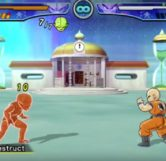 Krillin vs Saibamen (before)