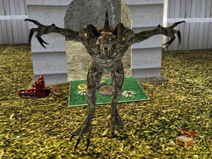 Stripe The Pet Deathclaw - Fallout New Vegas easter eggs