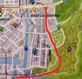 Elysian Fields Freeway Map Location