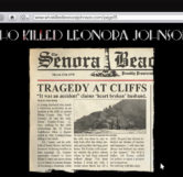"""Tragedy At Cliffs"" News Article"