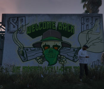 Welcome Back Mural