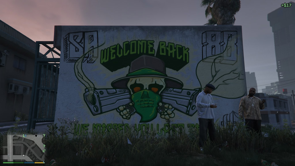 Welcome Back Mural - GTA V Easter Eggs