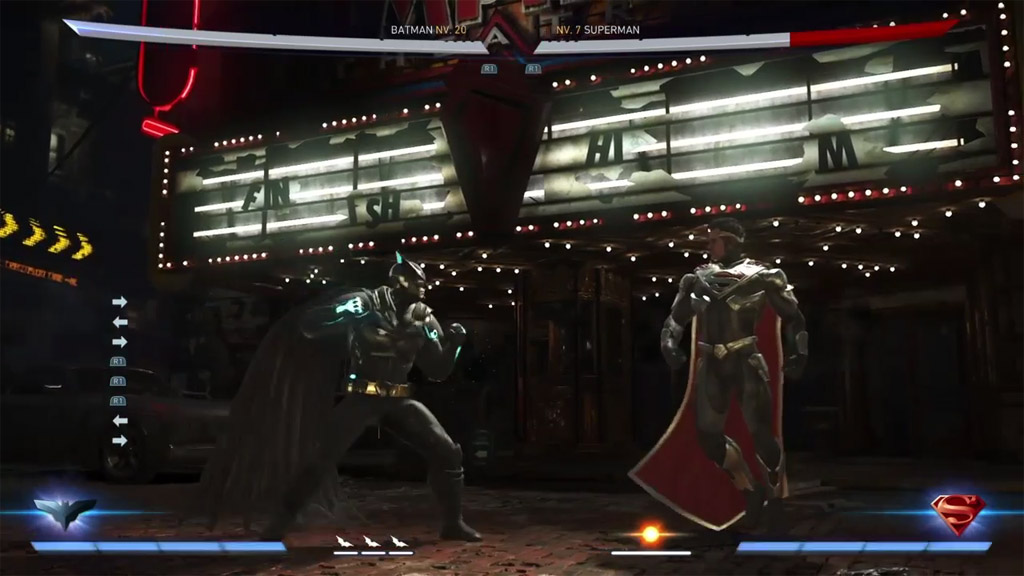 "Empire Theater Sign Says ""Finish Him"" - Injustice 2 Easter Eggs"