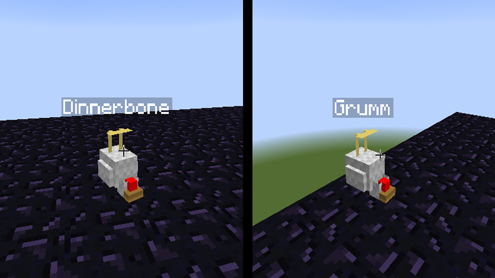 Upside Down Mobs | Minecraft Easter Eggs - Eggabase