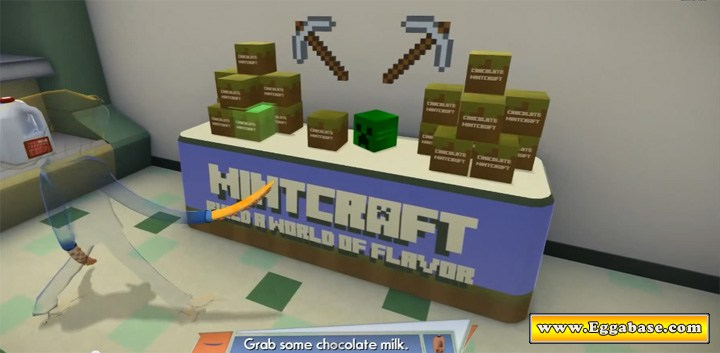 Minecraft - Octodad: Dadliest Catch Easter Eggs