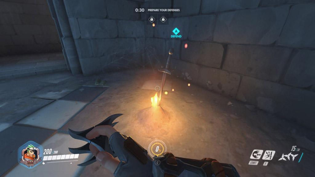 Dark Souls Bonfire - Overwatch Easter Eggs