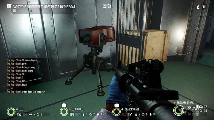 Team Fortress 2 Turret - Payday 2 easter eggs