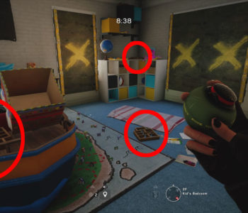 Hereford Base Toy (Kid's Bedroom Locations)