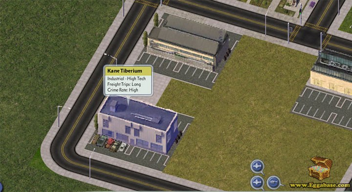 Kane Tiberium - Command and Conquer SimCity 4 easter egg