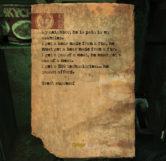 Borats Note