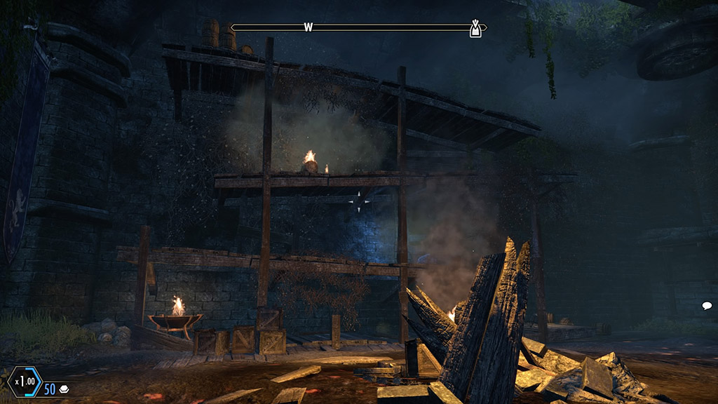Donkey Kong Area (Side) - The Elder Scrolls Online Easter Eggs