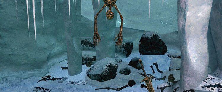 Luke Skywalker's Skeleton