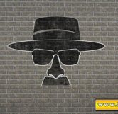 Walter White Graffiti