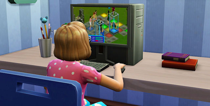 The Sims 1 - The Sims 4 Easter Egg