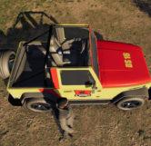 Jurassic Park Jeep (Top)