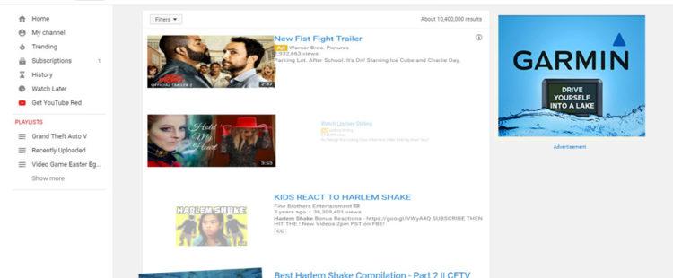 Youtube Does The Harlem Shake