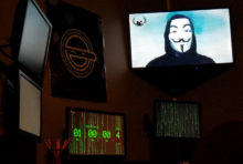 A photo from inside The Hacker's Lair, a Carrollton, Georgia escape room created by Lock City Escape Games.