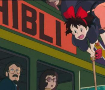 Studio Ghibli Bus (Ghibli Wording)