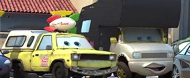 Pizza Planet Truck Cameo Cars Easter Eggs Eggabase