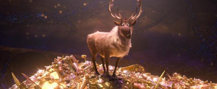 Frozen's Sven Cameo