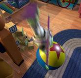 Buzz Jumping Onto Luxo Ball