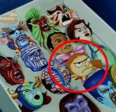 Helga Pataki Monster Mask