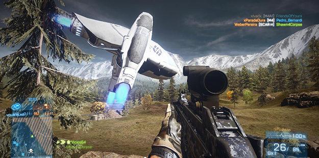 Battlefield 2143 Dropship
