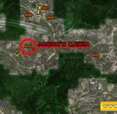 Jasons Cabin Map Location