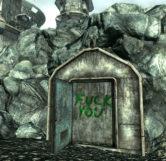 Fuck You Door (Open)