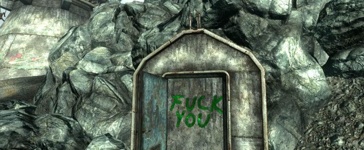 """""""Fuck You"""" Door"""