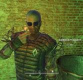 Deacon As A Diamond City Security Guard (Diamond City)