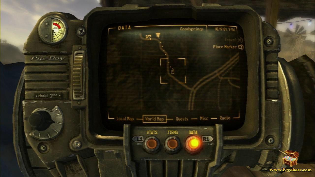 Indiana Jones Refrigerator | Fallout: New Vegas Easter Eggs - Eggabase