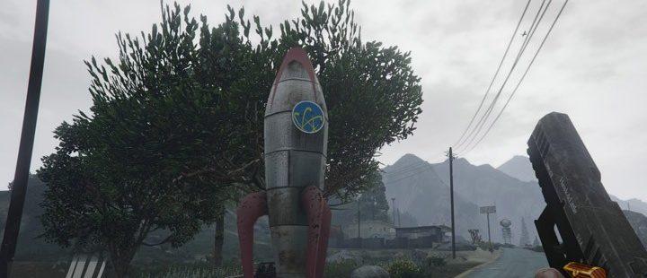 Fallout: New Vegas REPCONN Rocket