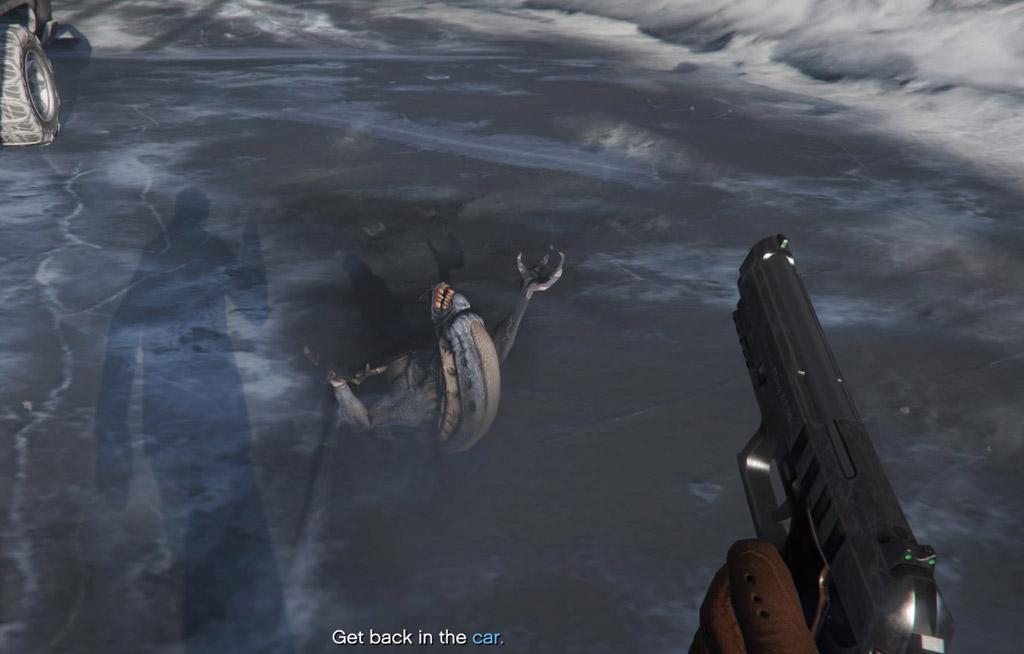 gta v freezes on trevors first mission
