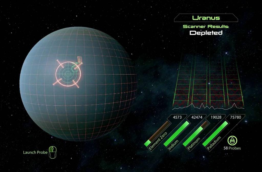 Probing Uranus - Mass Effect 2 Easter Eggs