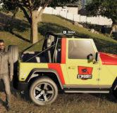 Jurassic Park Jeep (Right)